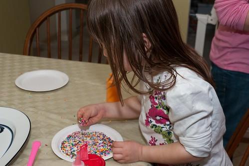 Sprinkles, yum!