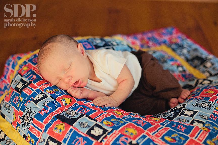 Kansas City newborn portraits