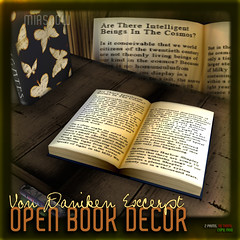 MIASNOW Home - Open Book Von Daniken Poster