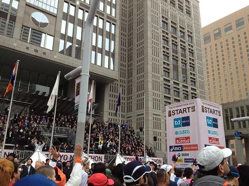東京マラソン2012スタート