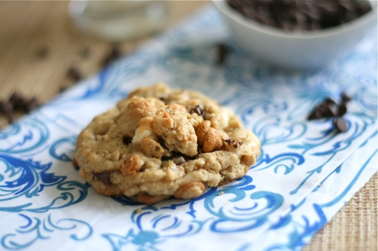 Snickers Stuffed Loaded Peanut Butter Oatmeal Cookies Final 1