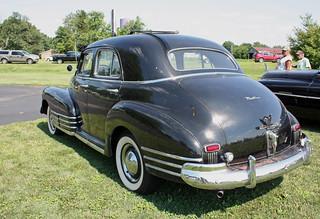Chevrolet fleetline stylemasters aerosedans 1942 to 1948 for 1948 chevy fleetline 4 door