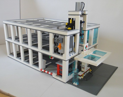 Moc Lego City Car Park Lego Town Eurobricks Forums