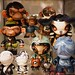 Customs by Ken Keirns, Julie West, JennyBird Alcantara, Bjornik, Limon, Chauskoskis, Dan May by vinyltoyz