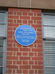 Photo of T. H. Barton blue plaque