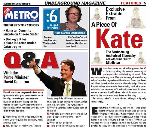 Underground Magazine screengrab