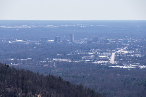 Greenville from the summit