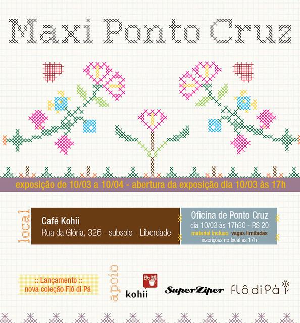Expo Maxi Ponto Cruz no Kohii