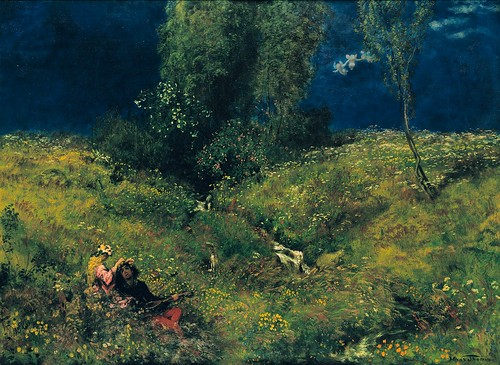 Hans Thoma - Summer [1872] by Gandalf's Gallery