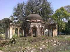 Baradari Ruins at Dilkusha in Lucknow