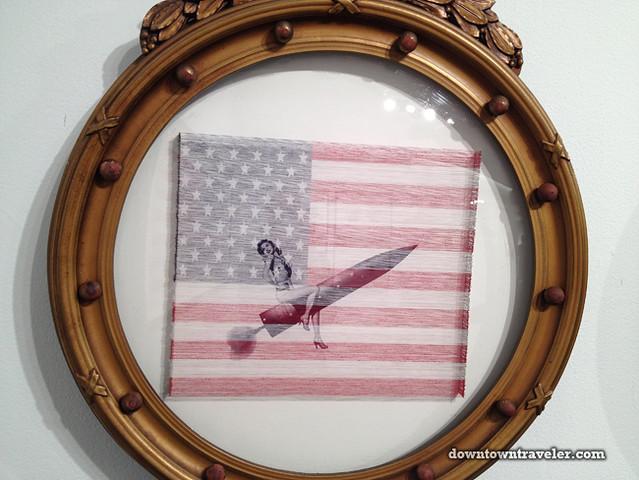 Volta NY Art Show_Jeremy Dean American Flags 04