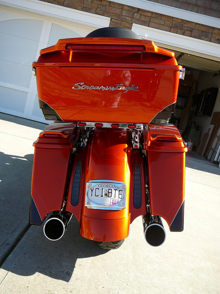 any accessories on your cvo street glide king tour pak