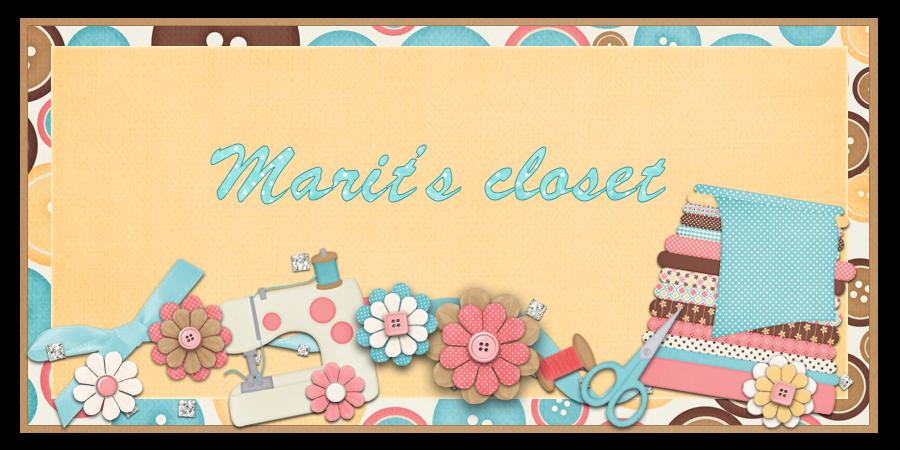 Marit's closet - Ropa para BJD - BJD's clothes