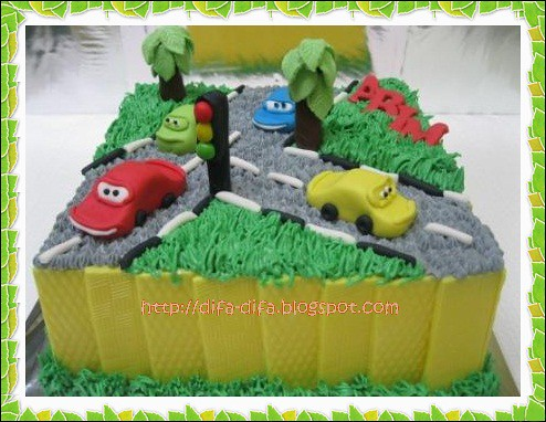 The Cars for Abim by DiFa Cakes