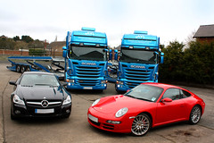 Our two new Open Car Transport Vehicles