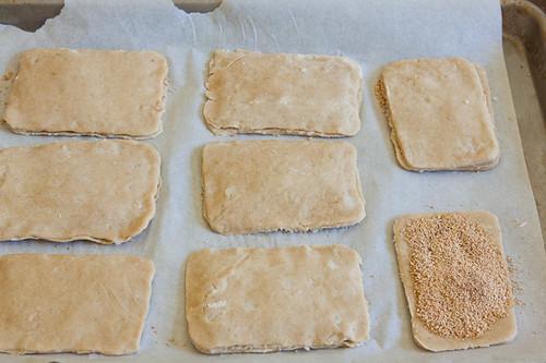 Making the tarts