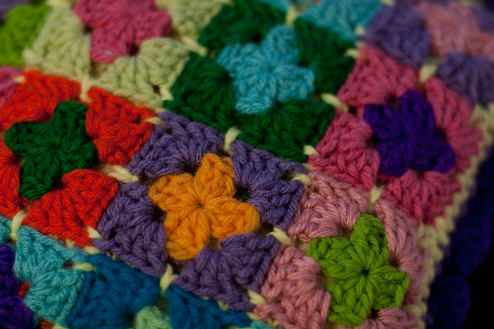 Playing with Colorful Yarn
