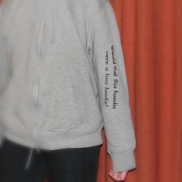 time hoodie 2