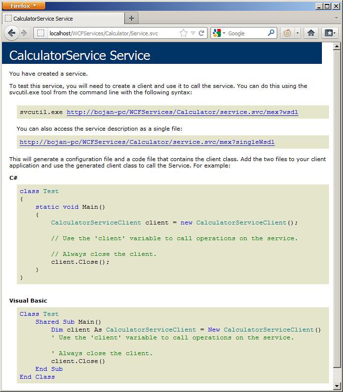 WebBrowser-WebService-Calc