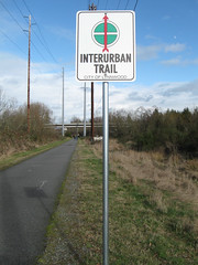 Riding the Interurban - Interurban markers