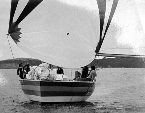 Smackwater Jack by Paul Whiting - the most exciting boat in the Sydney to Hobart - circa 1978