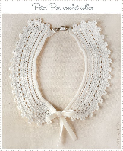 crochet collar by Uliana_Skomorokhova