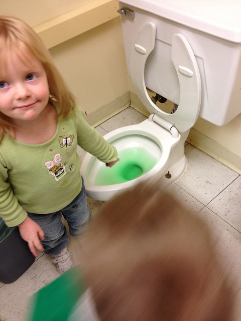 What have the leprechauns done to the potty?!