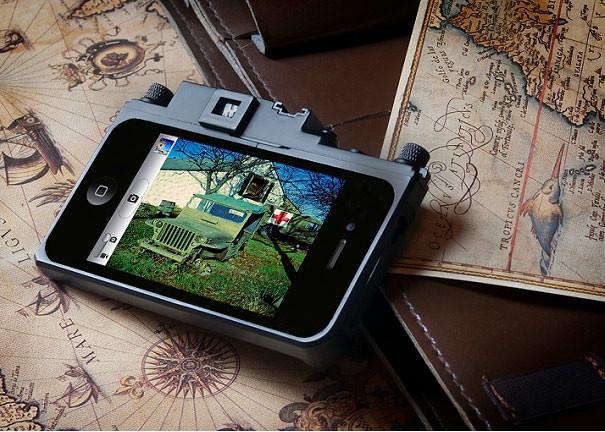 Leica Rangefinder Replica iPhone Case