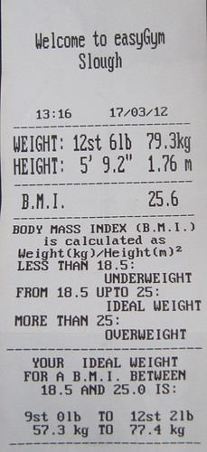 EasyGym - Body Statistics