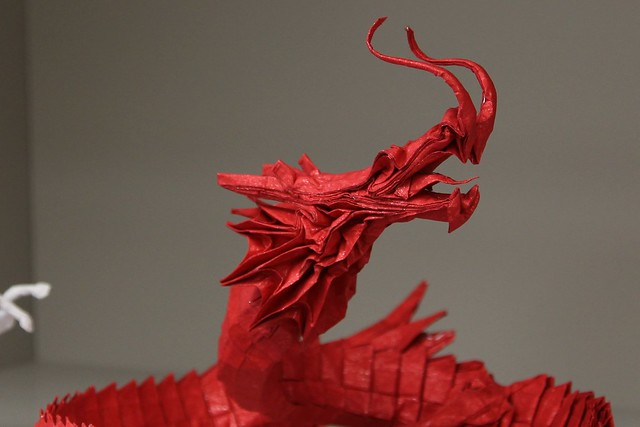how to make a chinese dragon origami