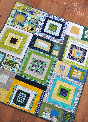 Dream Circle :: November Boy's Quilt
