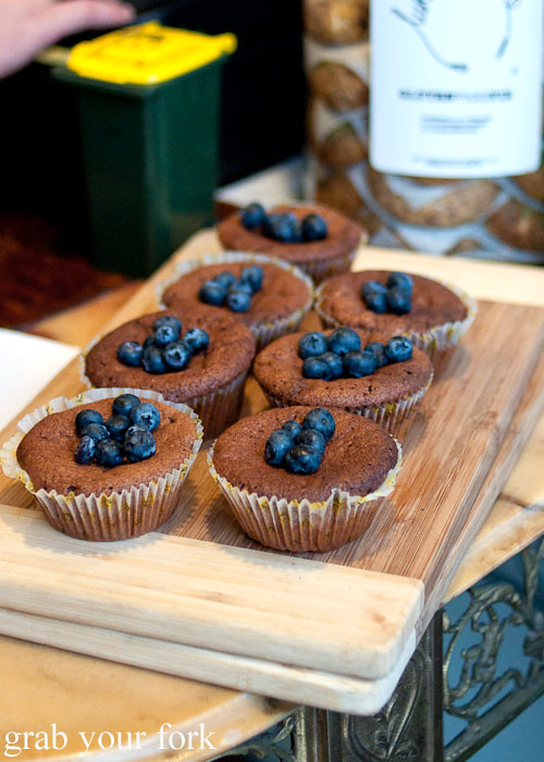 muffins blueberries circa espresso cafe parramatta