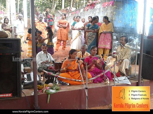 Shri Bhadra Bhagavathi Temple Festival Vettoor Varkala