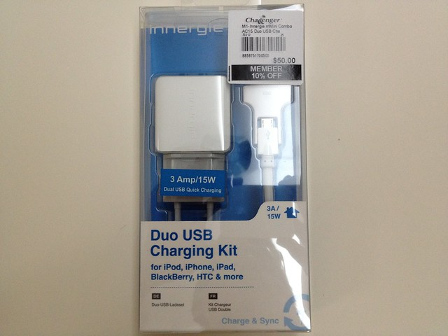 Innergie USB Charger – Duo USB Charging Kit (Home)