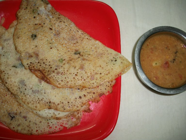 Instant Maida Dosa / Dosa made with All Purpose Flour - Dosa Recipes