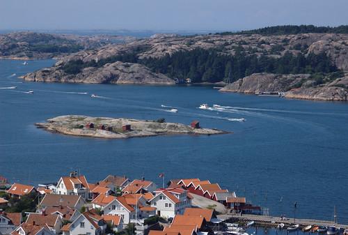 sweden bohuslän valö fjällbacka vetteberget jorefjorden