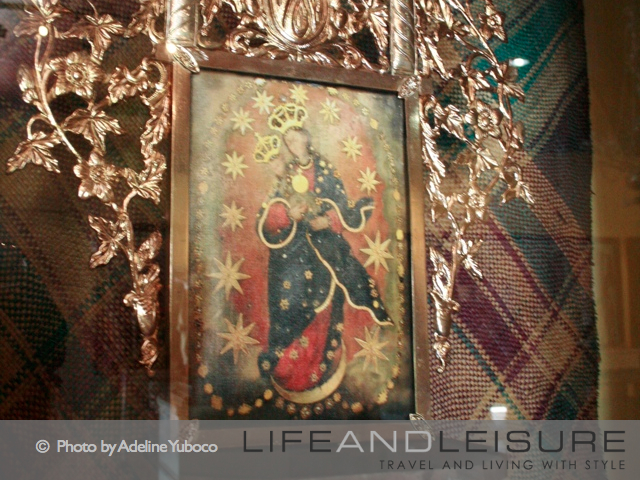 Madonna and Child image at Barasoain Church