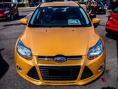 Ford Focus 2012 Headon