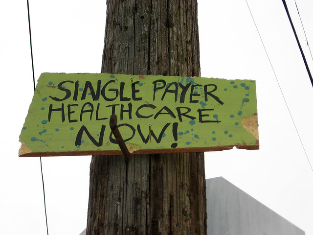 Single payer healthcare now!
