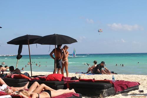 O inverno caliente de Playa del Carmen