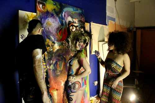 paint-party-girl-bushwick