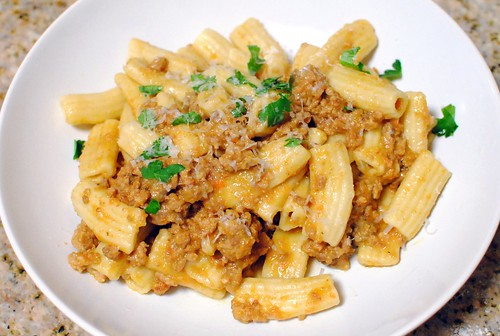 6879050439 74021f8330 Fresh Rigatoni with Ragu Bolognese