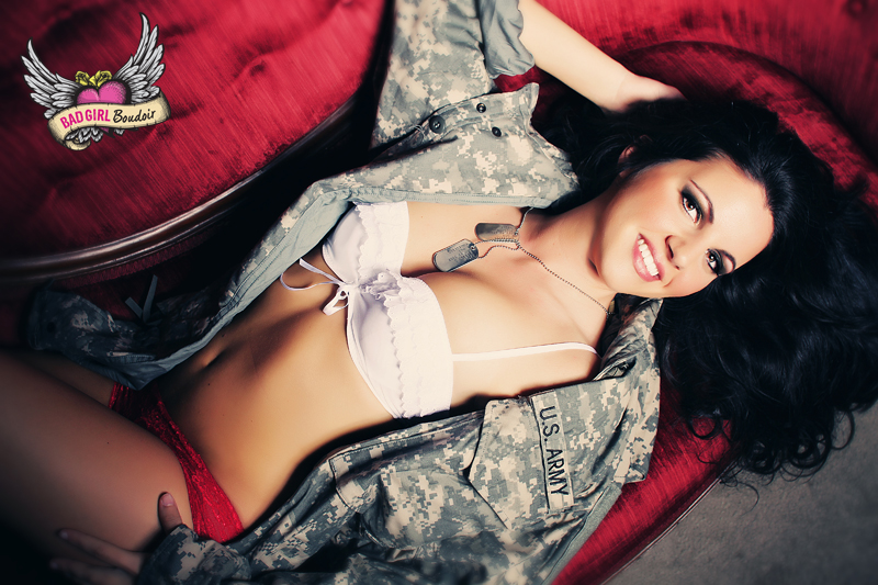 Boudoir & Pinup for Military Fiance // Army, Marine, Navy Boudoir Photography