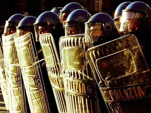 無料写真素材, 職業・地位, 警察, 風景  イタリア