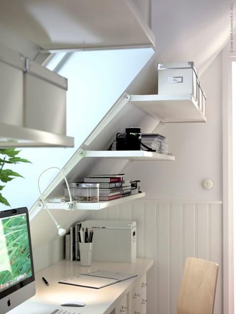 Photo for Slanted shelves ikea