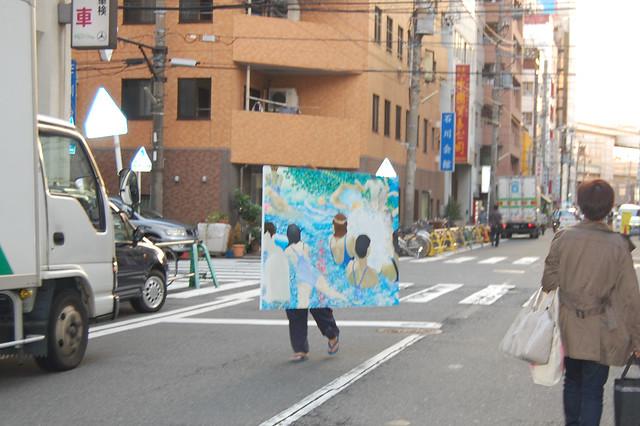 横浜のドヤ街を舞台にしたアートプロジェクト「寿から絵を放つ」 と「絵のパレード」_13