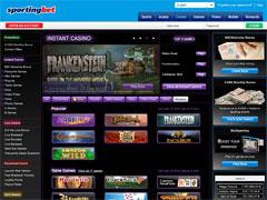 Sportingbet Casino Lobby