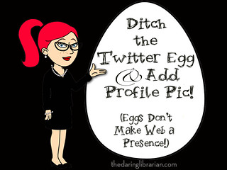 Avoid the Twitter egg in your profile