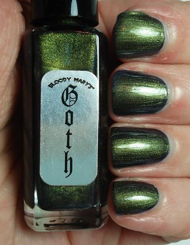 Bloody Mary Goth Green
