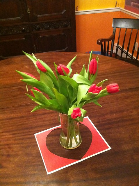 Red Tulips for My Valentine